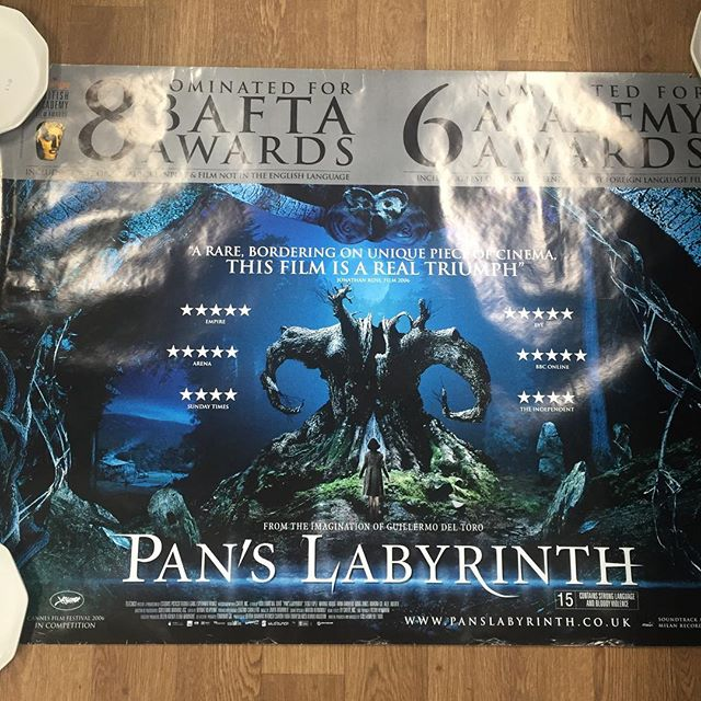 Pan's Labyrinth Movie Poster, used but in good condition