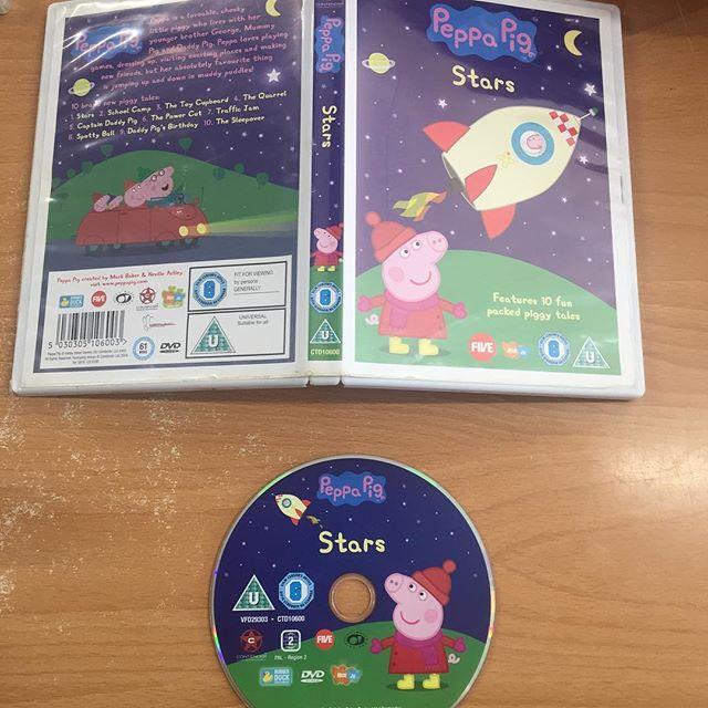 Buy Peppa Pig Stars Dvd Craig Kidd Ltd Pawnbroker